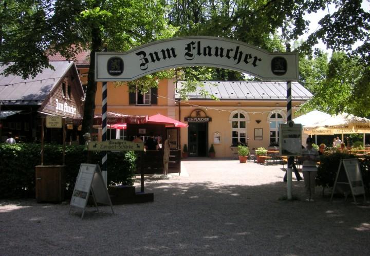 Zum Flaucher Biergarten – Sendling, München Bild