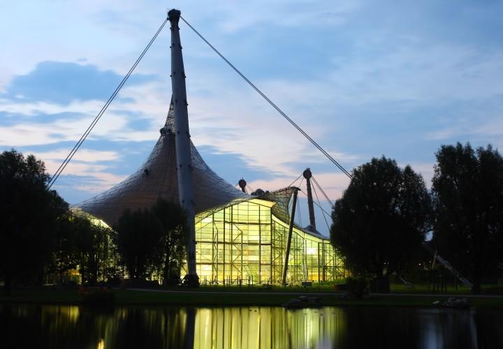 Olympia-Schwimmhalle – Milbertshofen-Am Hart, München Bild
