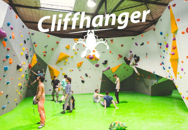 Cliffhanger Boulderlounge Bild