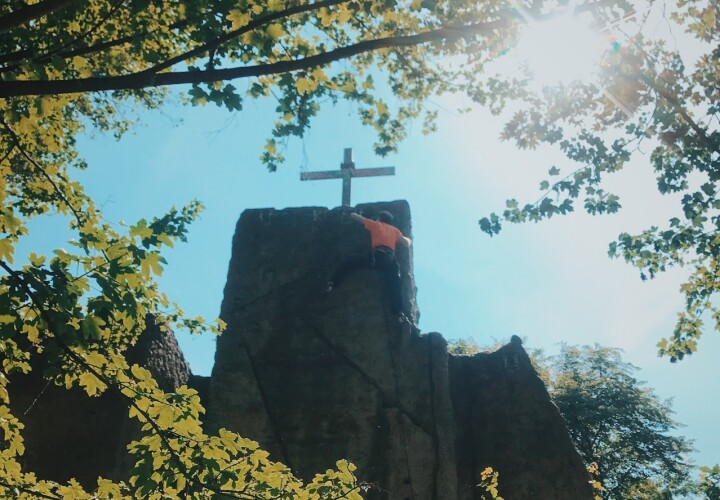 Kletterturm Teufelsberg – Bezirk Charlottenburg-Wilmersdorf, Grunewald Bild