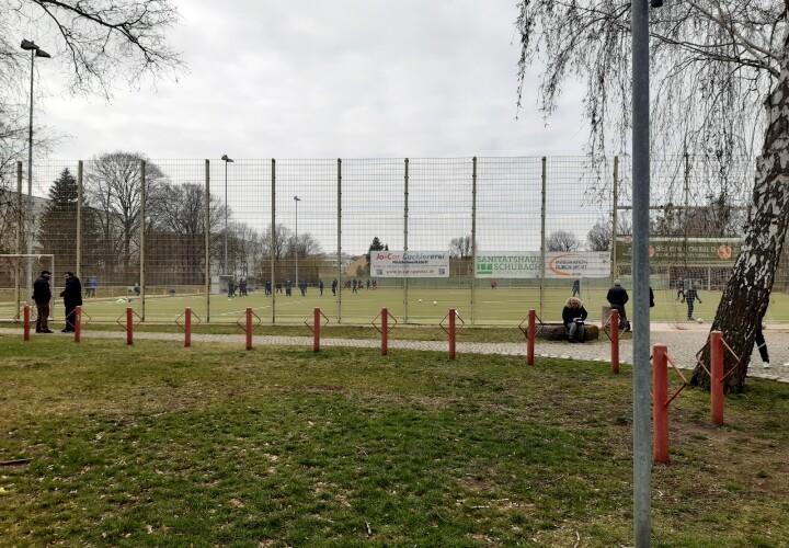 Städt. Sportplätze Sportanlage Werderstraße Bild