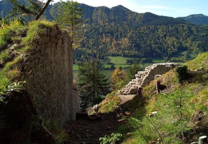 Burgruine Hohenwaldeck – Miesbach, Schliersee Bild